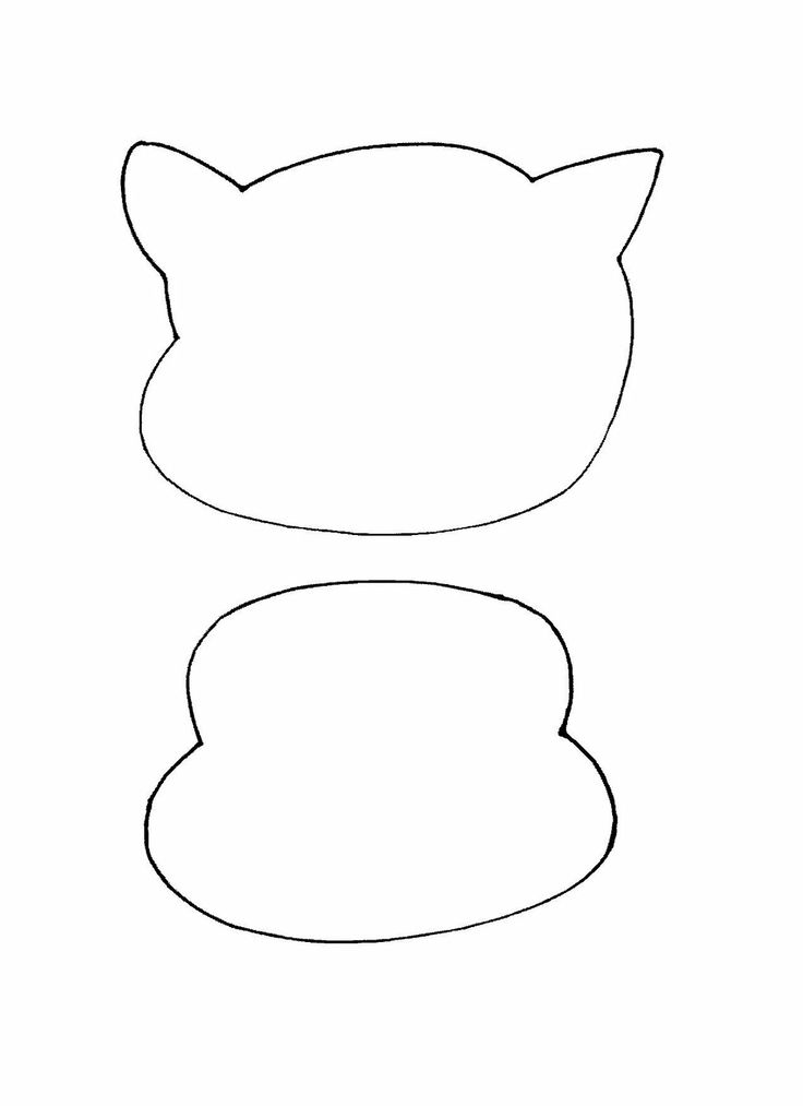 Cat In The Hat Face Outline Dr Seuss Theme Preschool