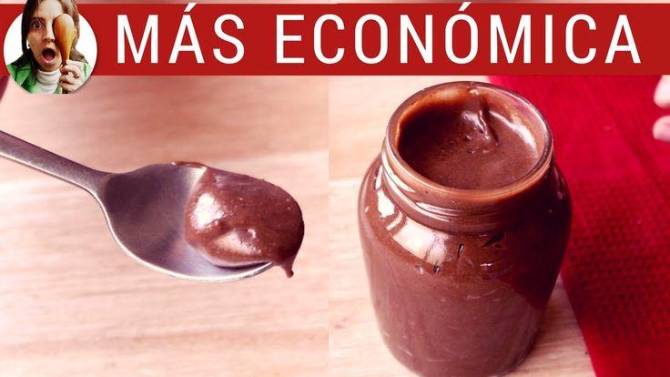 NUTELLA CASERA: fácil, rica y más económica