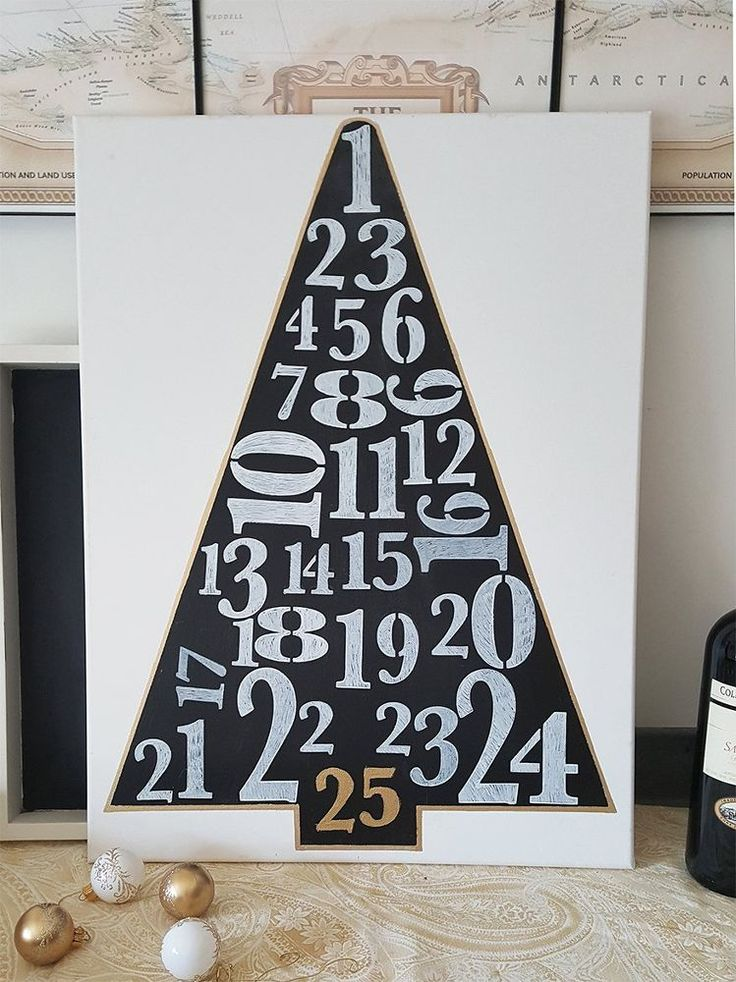 Easy DIY Christmas Tree Sign