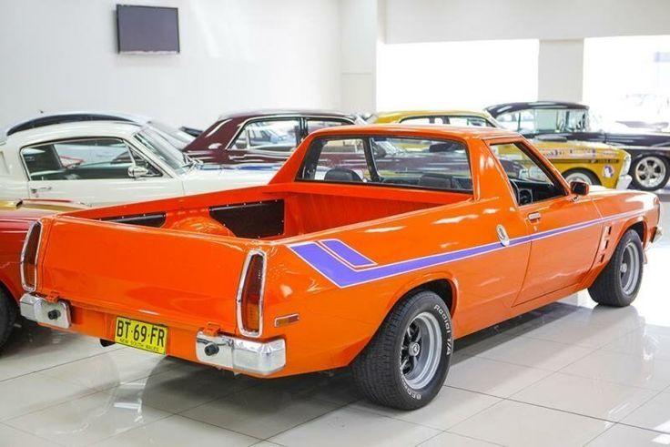 1978 Holden Kingswood HZ Orange Utility