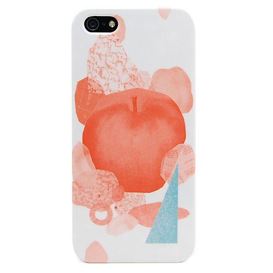 大野彩芽 iPhone5/5Sケース「baked apple」