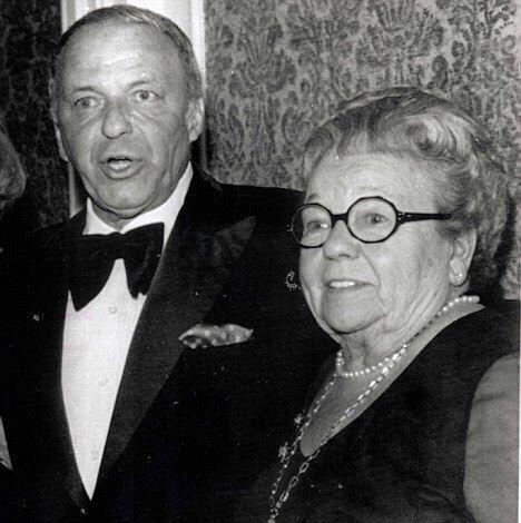 Frank Sinatra with mother, Natalina Garaventa