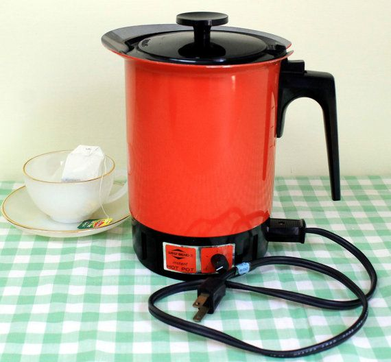 Vintage West Bend Instant Hot Pot Electric Tea by MillyCatVintage