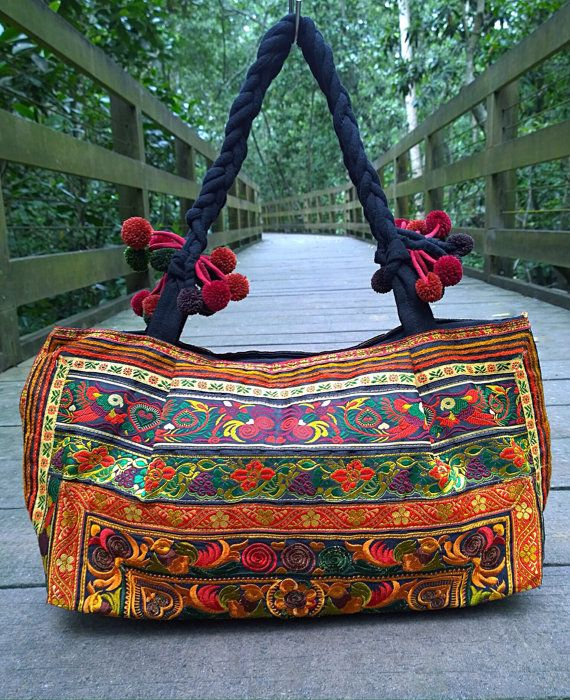 Hey, I found this really awesome Etsy listing at https://www.etsy.com/listing/246266160/hmong-embroidery-tote-ethnic-bag-fashion
