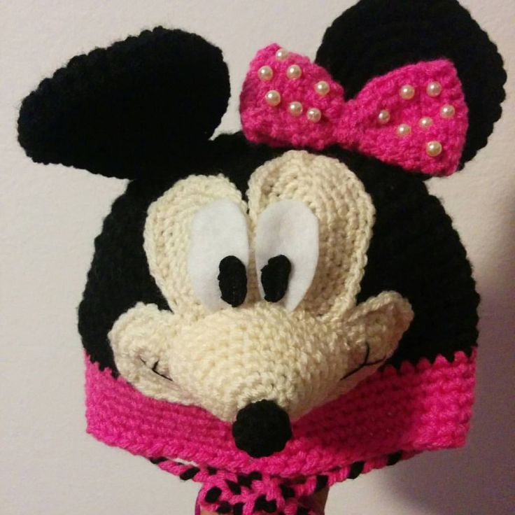 Mini mouse hat