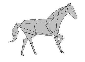 Les 25 meilleures idees de la categorie cheval origami sur for Kitchen cabinets lowes with pliage papier facile