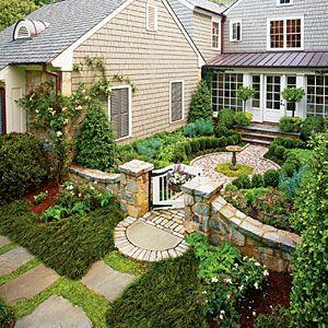 The South's Best Gardens | Atlanta Cottage Garden | SouthernLiving.com