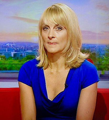 beautiful sexy Louise Minchin sexy legs short skirt