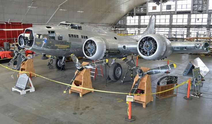 Memphis Belle, a B-17 World War Two bomber, is undergoing a major restoration project at the National Museum of the United States Air Force.  The Memphis Belle was kept in Memphis, Tennessee, for around 60 years before being transported to the museum in Dayton, Ohio, for restoration. This work on the historic bomber began ten years ago, and it's expected to take another two and a half years before it will be completed.