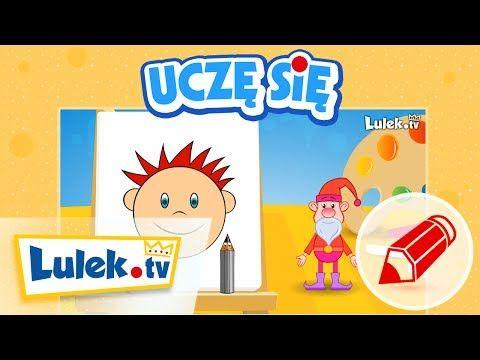 Jak narysować buzię? - Szkółka Rysowania dla dzieci z Lulek.tv (cz.4) - YouTube