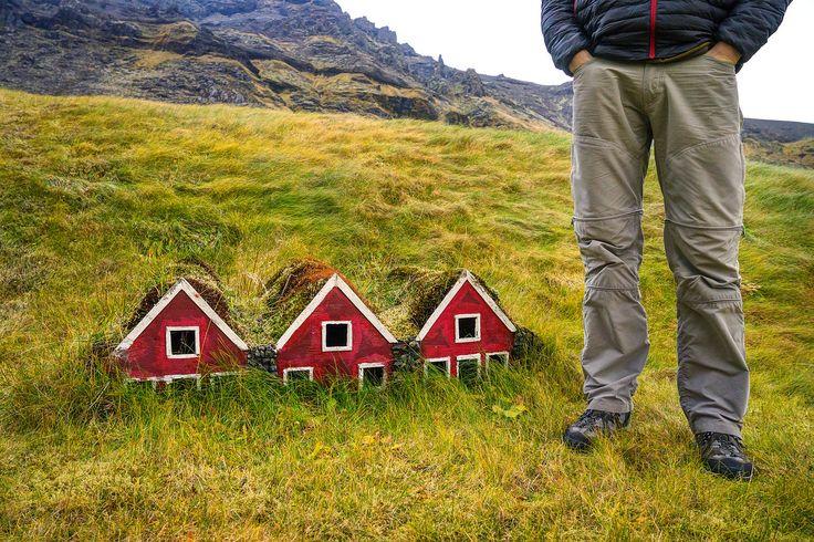 Turf Houses Made for Elves, Iceland. Photo the expert vagabond