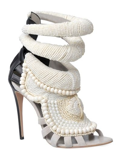 from Kanye West by Giuseppe Zanotti. That's 6k worth of beading! I would if I could these are gorgeous