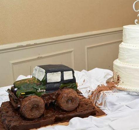 How to Make a Jeep Grooms Cake - JEEP - CJ - Wedding - BACHELOR CAKE
