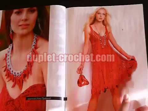 #crochet_patterns Journal Jurnal #Zhurnal_MOD 611 book magazine July 2017