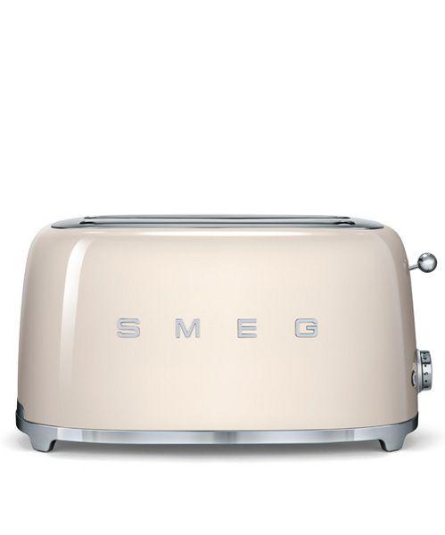 smeg tsf02cruk 50 39 s retro style cream 4 slice toaster retro style toaster and style. Black Bedroom Furniture Sets. Home Design Ideas