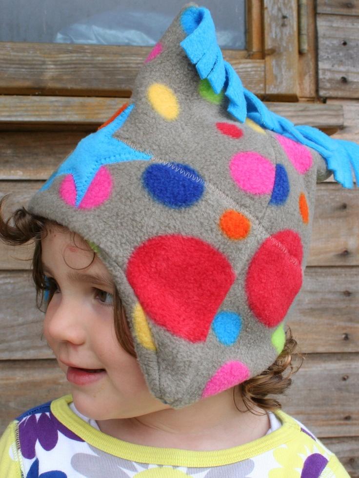 Bright Bubbles Fleece Star Hat