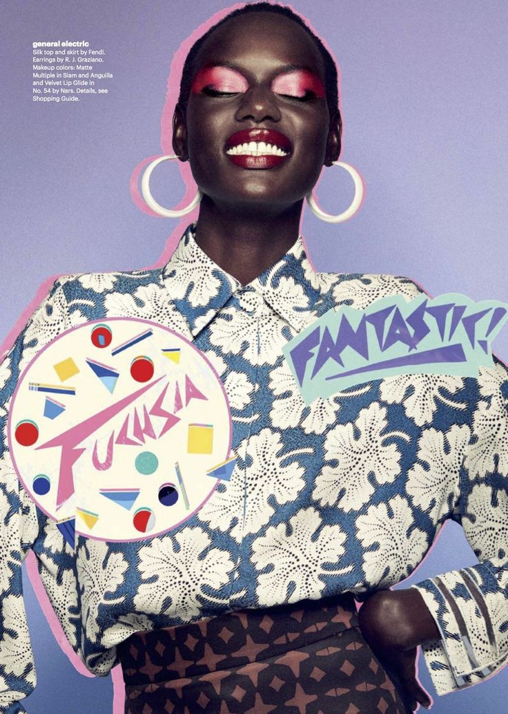 "midnight-charm: "" Ajak Deng photographed by Quentin Jones for Allure US October 2017 Stylist: Zara Zachrisson Hair: Pasquale Ferrante Makeup: Maki Ryoke """