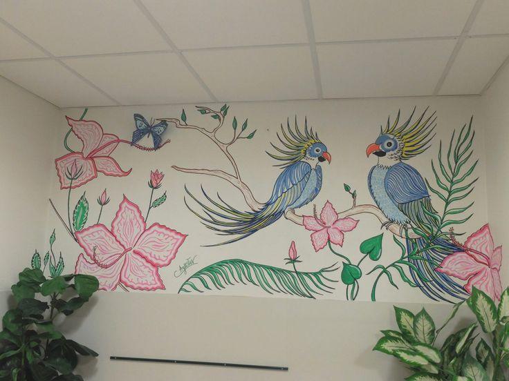 Ma rencontre avec la street artiste Corinne Agustin à l'hôpital Percy de Clamart