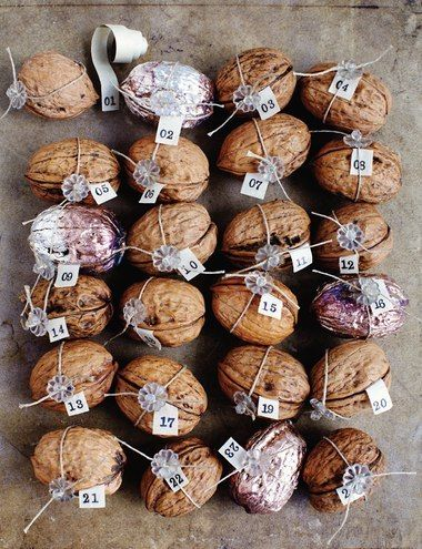 Sweet Paul's Walnut Advent Calendar
