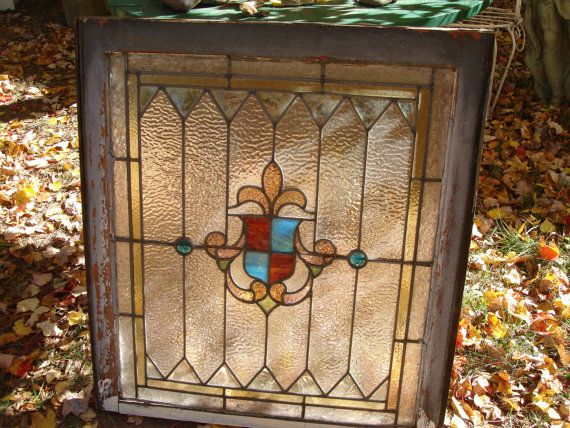 200 best stained glass images on pinterest stained glass stained architectural salvage antique stained glass window by funknjunkinc 28000 planetlyrics Gallery