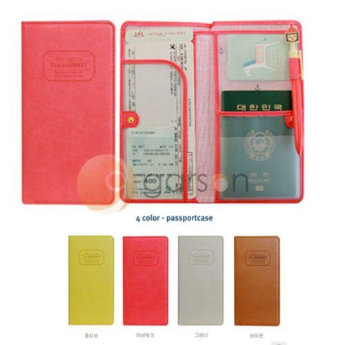 Funda pasaporte (red)