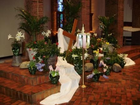 Easter Decorating Ideas For Church 35 best easter church decor images on pinterest | church ideas