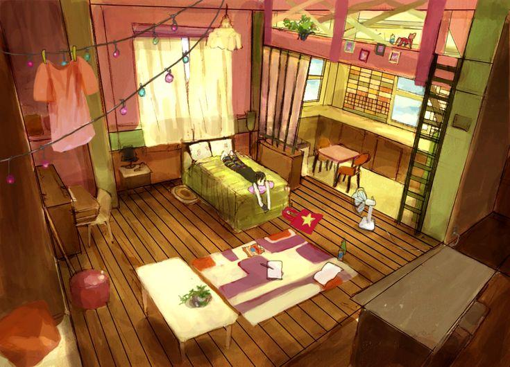 an afternoon by nishikado on deviantART