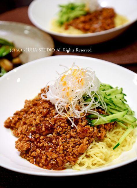 ジャージャー麺 by JUNA(神田智美)   レシピサイト「Nadia   ナディア」プロの料理を無料で検索