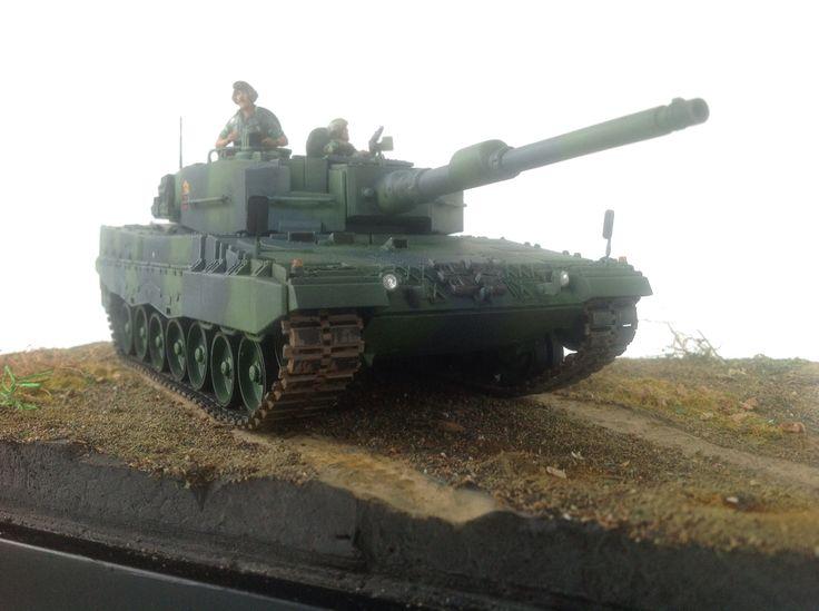 TNI Angkatan Darat Kavaleri, Leopard 2 A-4, tank 1/35 | ademodelart