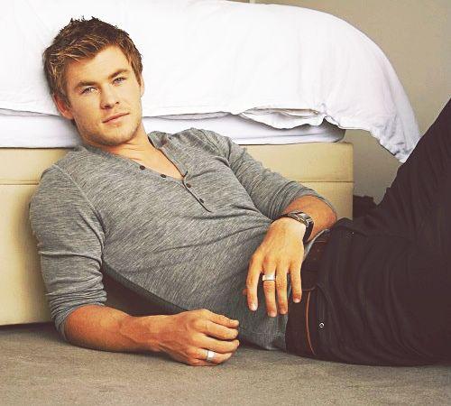 Young Chris Hemsworth