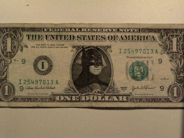 Drawing on money = Art?