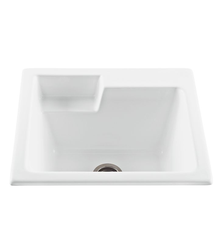 the universal laundry utility sink features no jets a washboard front and soap recess to ensure