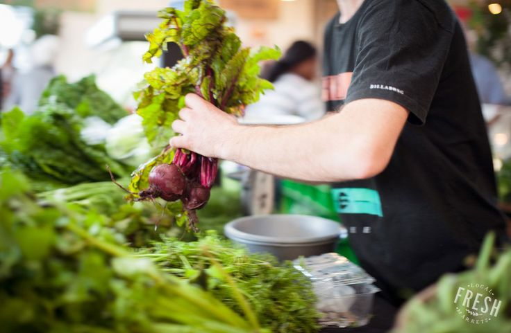 Beets being bought at the Bees in Boots stall (fresh organic produce). Find these at the Earth Fair Market in Tokai, Cape Town.