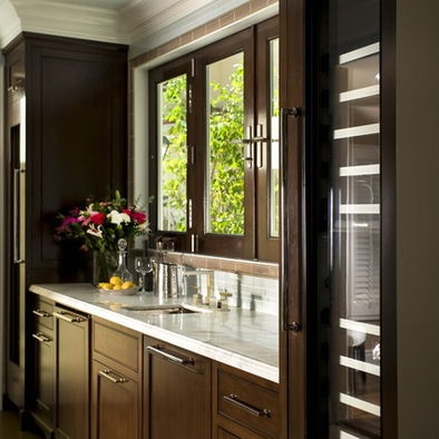 Kitchen Dark Wood Cabinets + Dark Wood Floors Design, Pictures, Remodel, Decor and Ideas - page 4