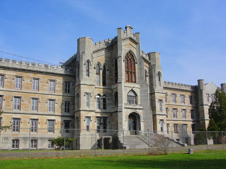 New York State Inebriate Asylum - Binghampton, NY. Designed by Isaac G. Perry. Built in 1864.