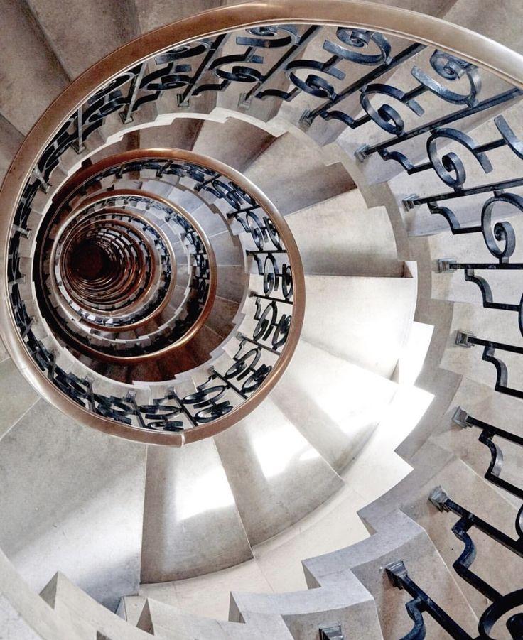 Best 25 spiral stair ideas on pinterest spiral for 8 foot spiral staircase
