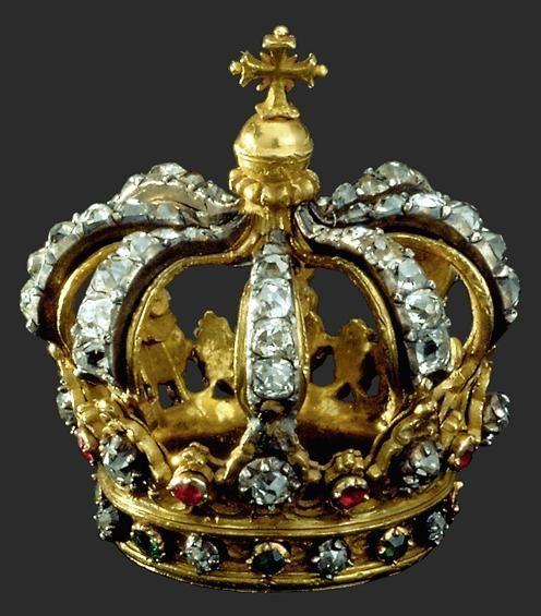 Crown,Portugal.  Gold, Diamonds, Rubies, Emeralds
