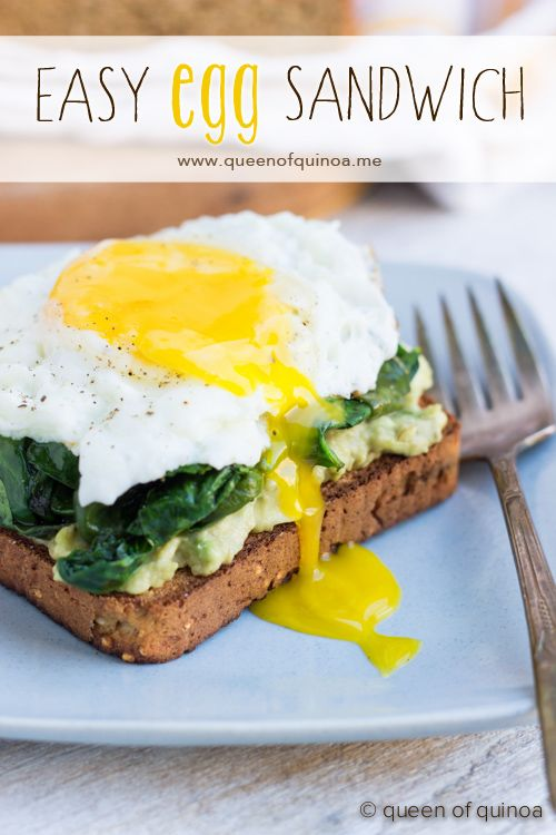 Easy Gluten-Free Breakfast SandwichEasy Gluten Fre, Sauteed Kale, Fries Eggs, Gluten Fre Breakfast, Breakfast Sandwiches, Easy Breakfast, Avocado Toast, Glutenfree Toast, Gluten Free Breakfasts
