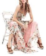 2014 New Girl Sexy Deep V Neck Camisole Beach Boho Maxi Long Dress Cute Sundress