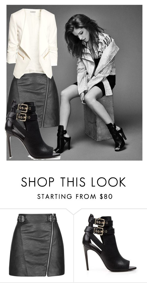 """charlotte"" by pirate-belle ❤ liked on Polyvore featuring Topshop, Burberry and H&M"