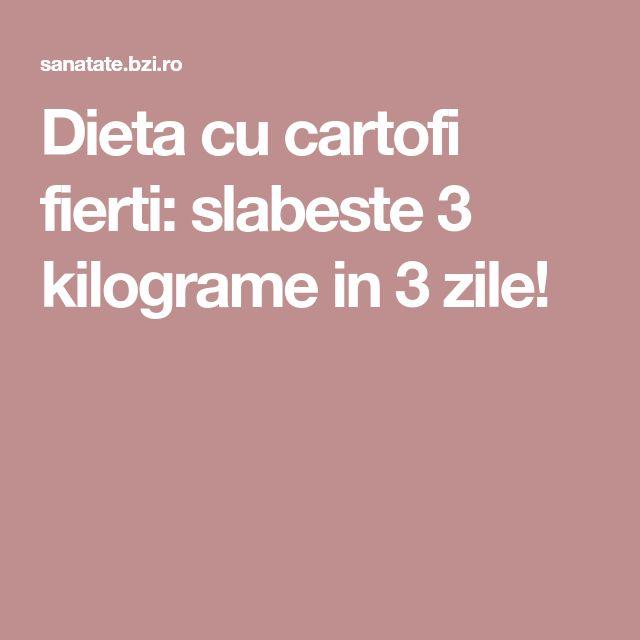 Dieta cu cartofi fierti: slabeste 3 kilograme in 3 zile!