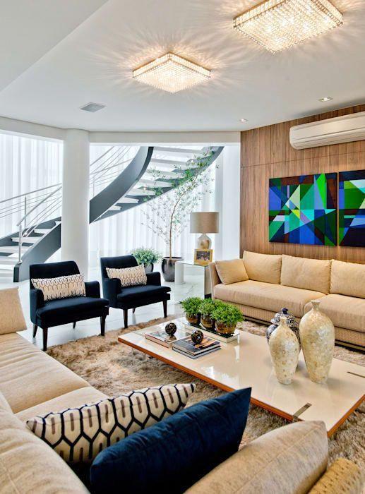 Living: Salas de estar modernas por Espaço do Traco Arquitetura #SalaDeJantarI …   – Mi casita