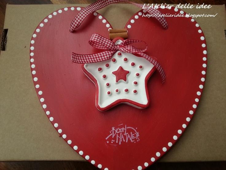 L'ATELIER DELLE IDEE: Targhetta natalizia
