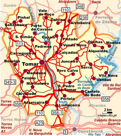 Best Tomar Images On Pinterest Party Places And Portugal - Portugal map tomar
