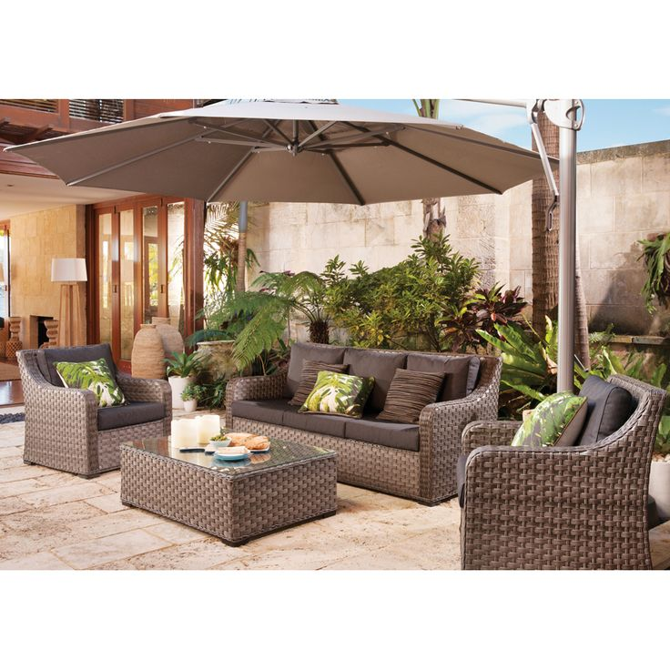 Shelta Anglesea 4 piece Deluxe Sofa Setting