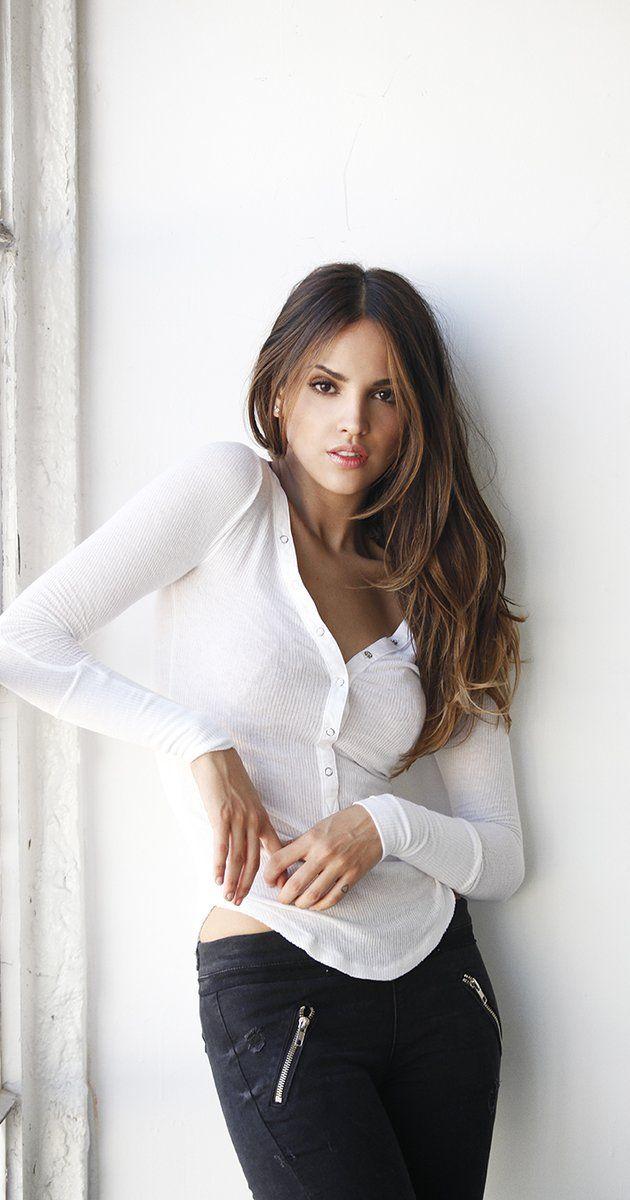 Eiza González, her hair