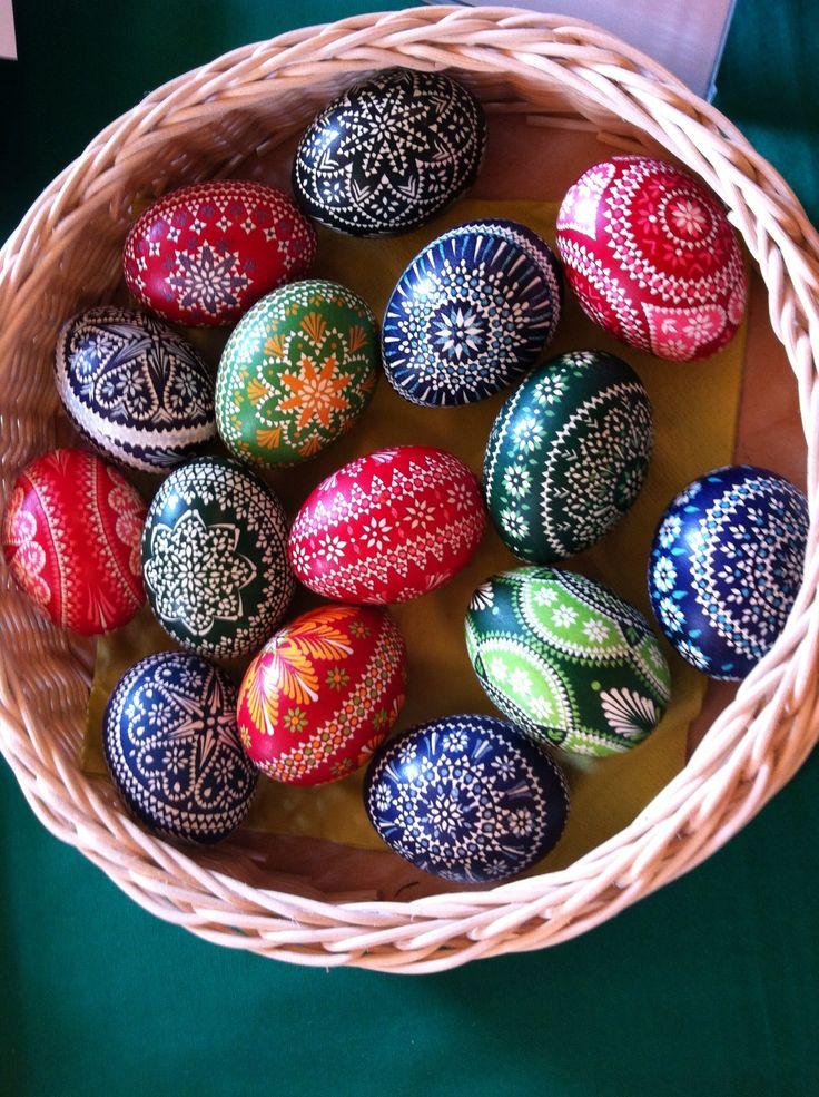 Sorbische Ostereier - Sorbain easter eggs