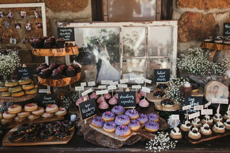 Dessert table display...fully decked out!!
