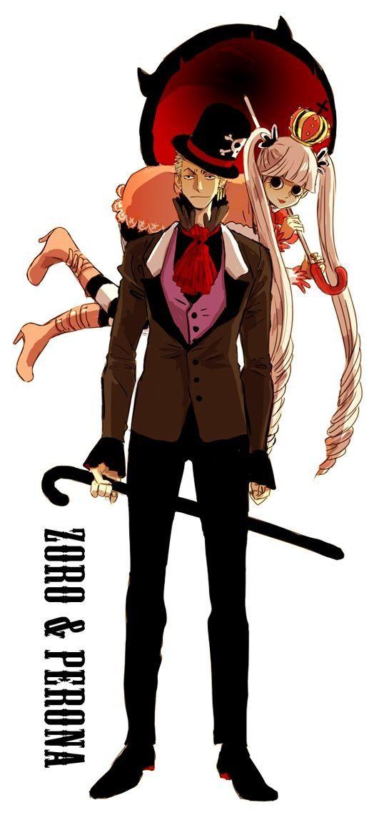 One Piece, Zoro, Perona