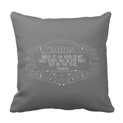 The Best Day In the Year Inspiring Quote Pillow - home gifts ideas decor special unique custom individual customized individualized